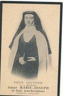DOODSPRENTje  NON NONNE  ZUSTER   Marie Jozef  Karmeliet   Vandervennet Meigem 1868   1910 - Godsdienst & Esoterisme