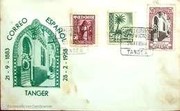Carta. Tánger. - Spanisch-Marokko