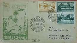 Carta. Guinea. - Guinée Espagnole