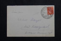 ALLEMAGNE - Oblitération Plaisante De Stromberg Sur Enveloppe, Affranchissement Plaisant - L 61486 - Storia Postale