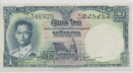 THAILAND  P. 74d 1 B 1955 UNC (s. 41) - Tailandia