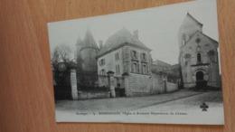 CPA -  54. BOURDEILLES -  L'église Et Anciennes Dépendances Du Château - France