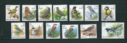 [STCK] Vogels - Oiseaux Type Buzin Waarden In BEF En EURO ** Postfris - 1985-.. Birds (Buzin)