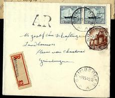 Doc. De  GRIMBERGEN - A A - Du 07/11/49 Avec N° 727 -Ostende-Dover)   En Rec. - Belgien