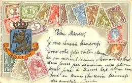 027 870 - CPA - Carte Philatélique Déposée - D.R.G.M. 222 744 - Otros - Europa