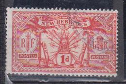 Nouvelle Hébrides      1911        N °   50        COTE    3 € 50         ( E 142 ) - Used Stamps