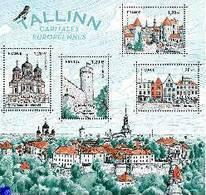 F5212 Capitales Européennes : TALLIN - Blocs & Feuillets