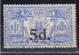 Nouvelle Hébrides      1921        N °   79        COTE    22 € 00         ( E 143 ) - Used Stamps