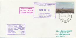 RSA / SOUTH AFRICA  - 1978  ,  GOUGHEILAND   -  Weather Office  -  ANTARCTIS - Non Classés