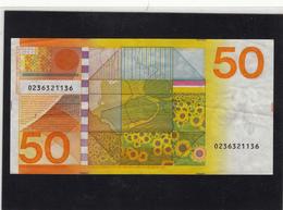 NETHERLANDS  50 GULDEN 4.1.1982  CIRCULATED - [2] 1815-… : Kingdom Of The Netherlands
