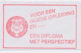 Meter Cut Netherlands 1998 - Neopost RN 6177 Bird - Owl - Vogels
