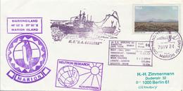 RSA / SOUTH AFRICA  - 1974  ,  MARIONEILAND   -  ANTARCTIS - Non Classés