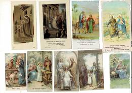 G KL 059 - SAINTE FAMILLE - HEILIGE FAMILIE -   23 CHROMOS - VERSO BLANCO - Images Religieuses