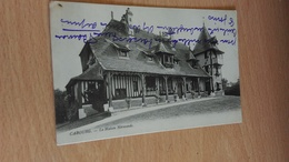 CPA -  CABOURG Maison Normande - Cabourg