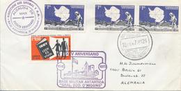 CHILE / TERRITORIO ANTARTICO  - 1973  ,  BASE MILITAR ANTARTICA  General O'HIGGINS - Non Classés