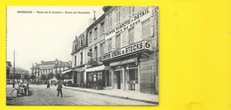 BORDEAUX COMPTOIR Gal Des STOCKS Crs Argonne Place Victoire (Publicité Le Héraut) Gironde (33) - Bordeaux
