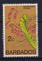 Barbados: 1975/79   Orchids  SG511    2c    Used - Barbados (1966-...)