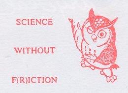 Meter Top Cut Netherlands 1997 Bird - Owl - Vogels