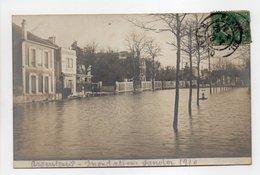 - CPA ARGENTEUIL (95) - Photo Inondations Janvier 1910 - - Argenteuil