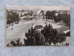 375 - CPSM , Fez ,  La Place Gambetta Et Le Boulevard Du 4e Tirailleurs - Fez