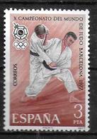 ESPAGNE  N° 2095 * *  Judo - Judo