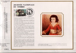 DOCUMENT FDC 1981 JOURNEE DU TIMBRE  GOYA - FDC