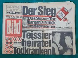 Zeitschrift  BILD 27 Mai 1983 Europapokal Sieg Vom HSV - Sports