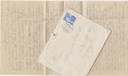 V1 - Österreich 1953 - 1,50 S Auf Brief Mit Inhalt Gel.v. Dölsach > Wien XIII - Faire-part