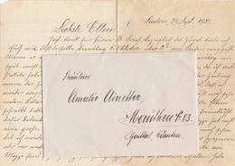 V1 - Niederlande 1920 - Brief Mit Inhalt Gel.v. Leiden > Mauthen - Faire-part