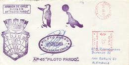 CHILE / PUNTA ARENAS   - 1977  ,  ARMADA DE CHILE  AP. PILOTO PARDA  ... - Non Classés