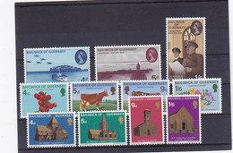 Guernsey Nr.28-38 ** - Guernsey