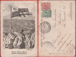 Sulla Vetta Della Grigna Meridionale.. Viaggiata 1911 - Cartes Postales
