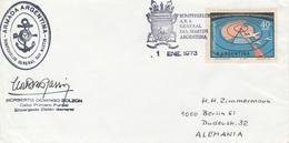 ANTARTIDA ARGENTINA  -  1973  ,  Base General SAN MARTIN - Non Classés