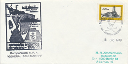 ANTARTIDA ARGENTINA  -  1978  ,  Base General SAN MARTIN - Non Classés