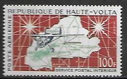 HAUTE VOLTA  -  Poste Aérienne  -  1961 . Y&T N° 1** .  Avion  /  Service Postal Aérien. - Alto Volta (1958-1984)