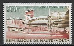 HAUTE VOLTA  -  Poste Aérienne  -  1961 . Y&T N° 2 ** .  Avion  /  Aéroport De Ouagadougou - Alto Volta (1958-1984)