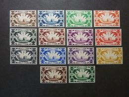 """OCEANIE, Année 1942, YT N° 155 à 168 Neufs MH*, Série Complète De 14 Valeurs """"France Libre"""" - Unused Stamps"""