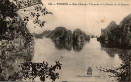TONKIN BAIE D ALONG VUE PRISE DE LA GROTTE DE LA SURPRISE - Vietnam