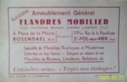 Buvard FLANDRES MOBILIER – RARE – Ameublement, Rosendaël, Saint Pol Sur Mer, Meubles, Literie, Sièges, Lino, Balatum - Blotters