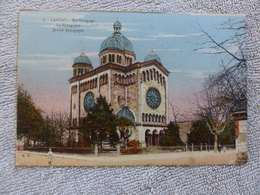 398 - CPA,  Landau , La Synagogue - Landau