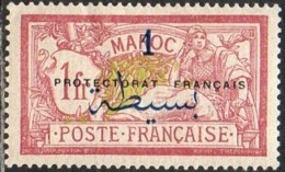 Maroc Protectorat Français - N° 51 (YT) N° 47 (AM) Neuf *. - Marruecos (1891-1956)
