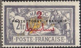 Maroc Protectorat Français - N° 52 (YT) N° 56 (AM) Neuf *. - Marruecos (1891-1956)