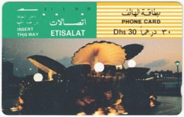 U.A.E. B-169 Optical Etisalat - Culture, Monument - Used - United Arab Emirates