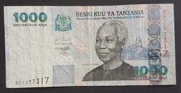RS - Tanzania 1000 Shillings Banknote 2003 - Tanzanie