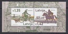 Latvia 2020. Europa. Bl. MNH. - Letonia