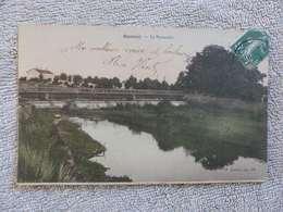 401 - CPA,  Baccarat, La Passerelle - Baccarat