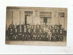 SERILLAN (GIRONDE) ? OU AUTRE CARTE PHOTO ANCIENNE NON SITUEE AVEC GROUPE D'HOMMES - Postcards