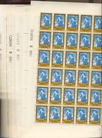 1076/1081 Tableaux Cadres OR. Feuilles Complètes. Cote 360-euros - Full Sheets