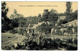 St.-Céneri-le-Gérei / La Sarthe / Pont / Pêcheur ... - Autres Communes