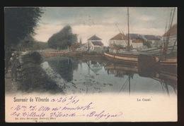 SOUVENIR  DE VILVOORDE  LE CANAL   COULEUR  KLEUR - Vilvoorde